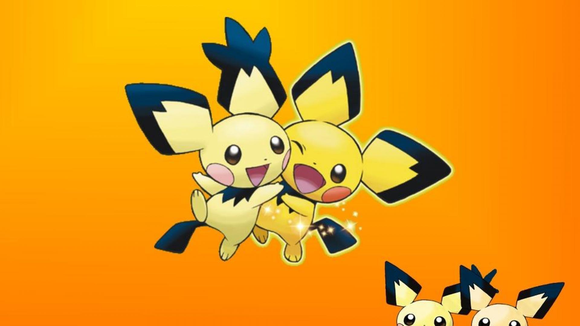 Duo Pichu Pokemon Go New Wallpaper 3038 Wallpaper Themes 1920x1080