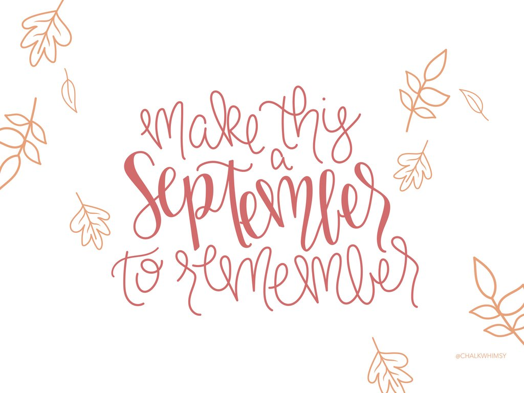 FREEBIE September Desktop and iPhone Wallpaper ChalkWhimsy 1024x768