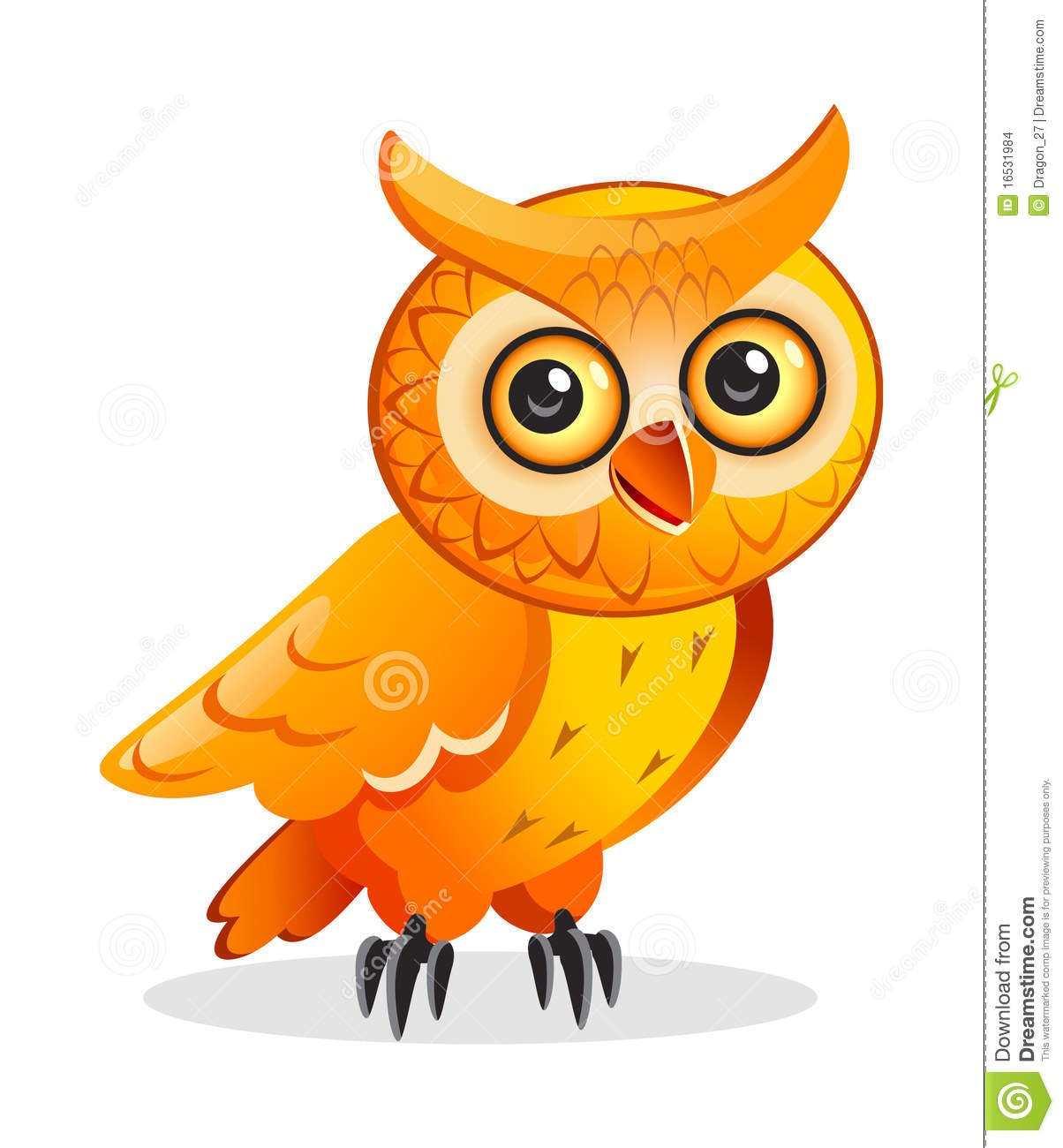 Cartoon Owl Desktop Wallpaper - WallpaperSafari