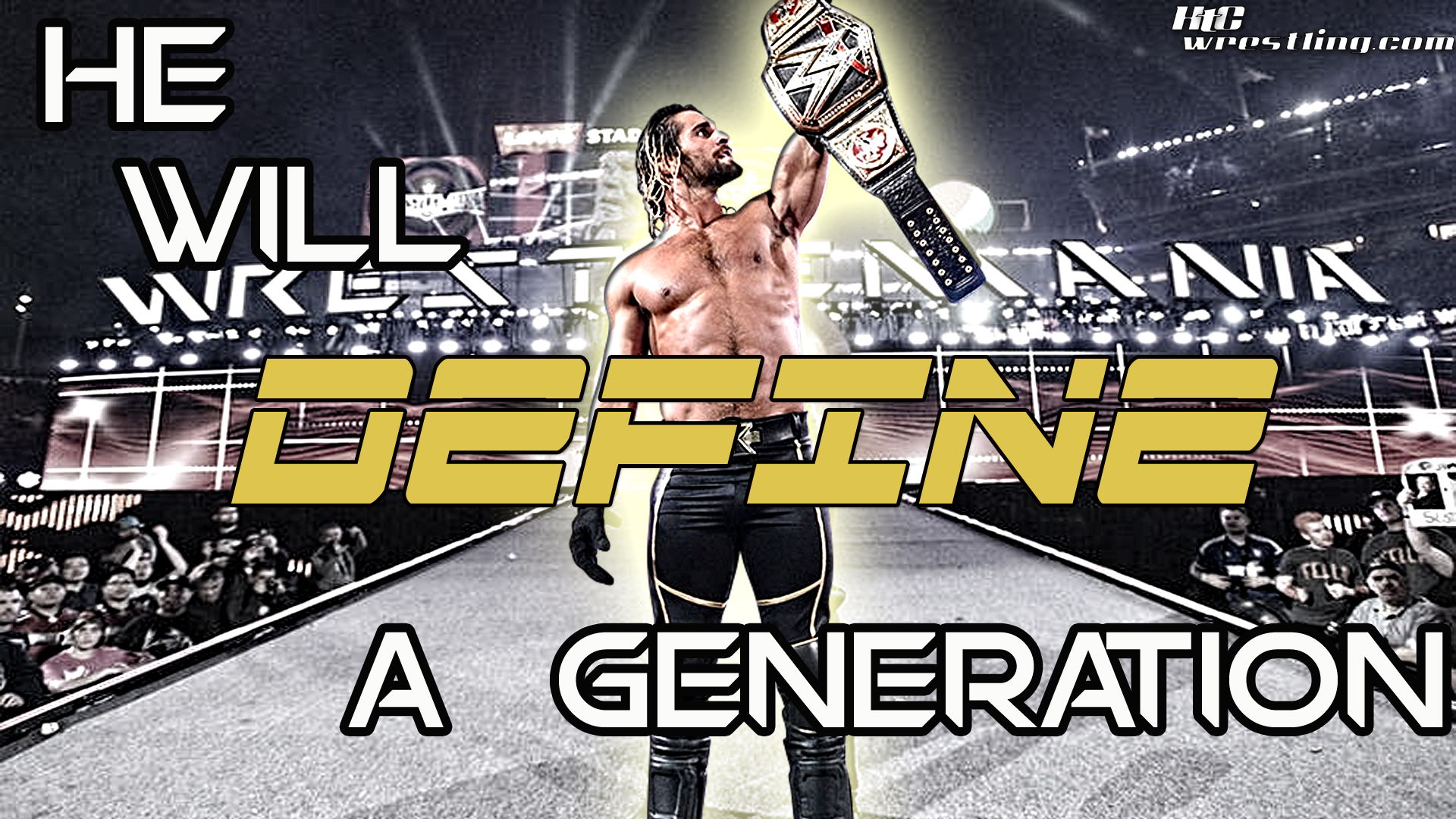 Free Download Seth Rollins Defining A Generation Wallpaper Hittin
