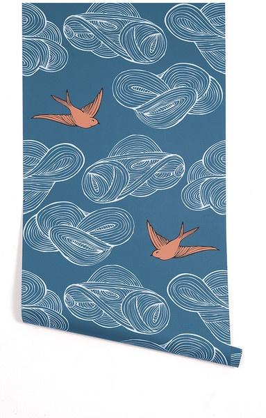 hygge and west bird wallpaper wallpapersafari