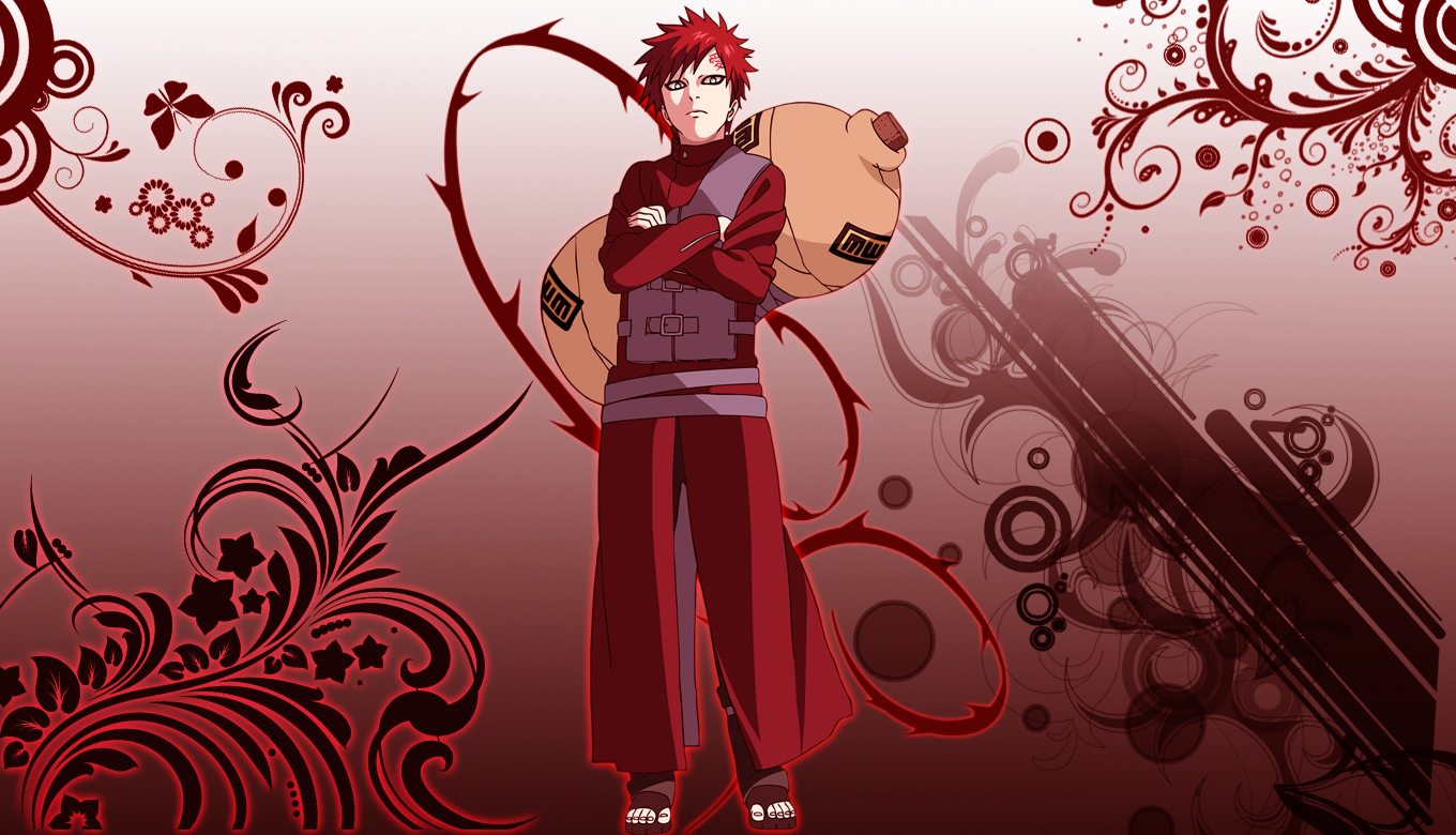 Gaara Shippuden Search Best Wallpaper Coloring Page Online 2015 1360x780