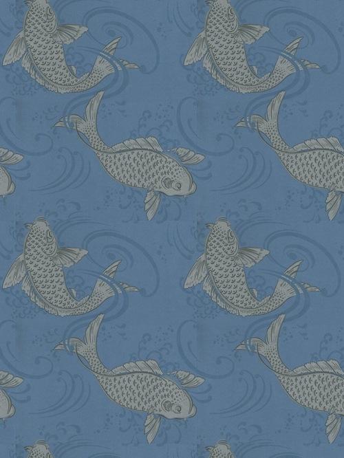 Osborne and little koi wallpaper wallpapersafari for Little koi fish