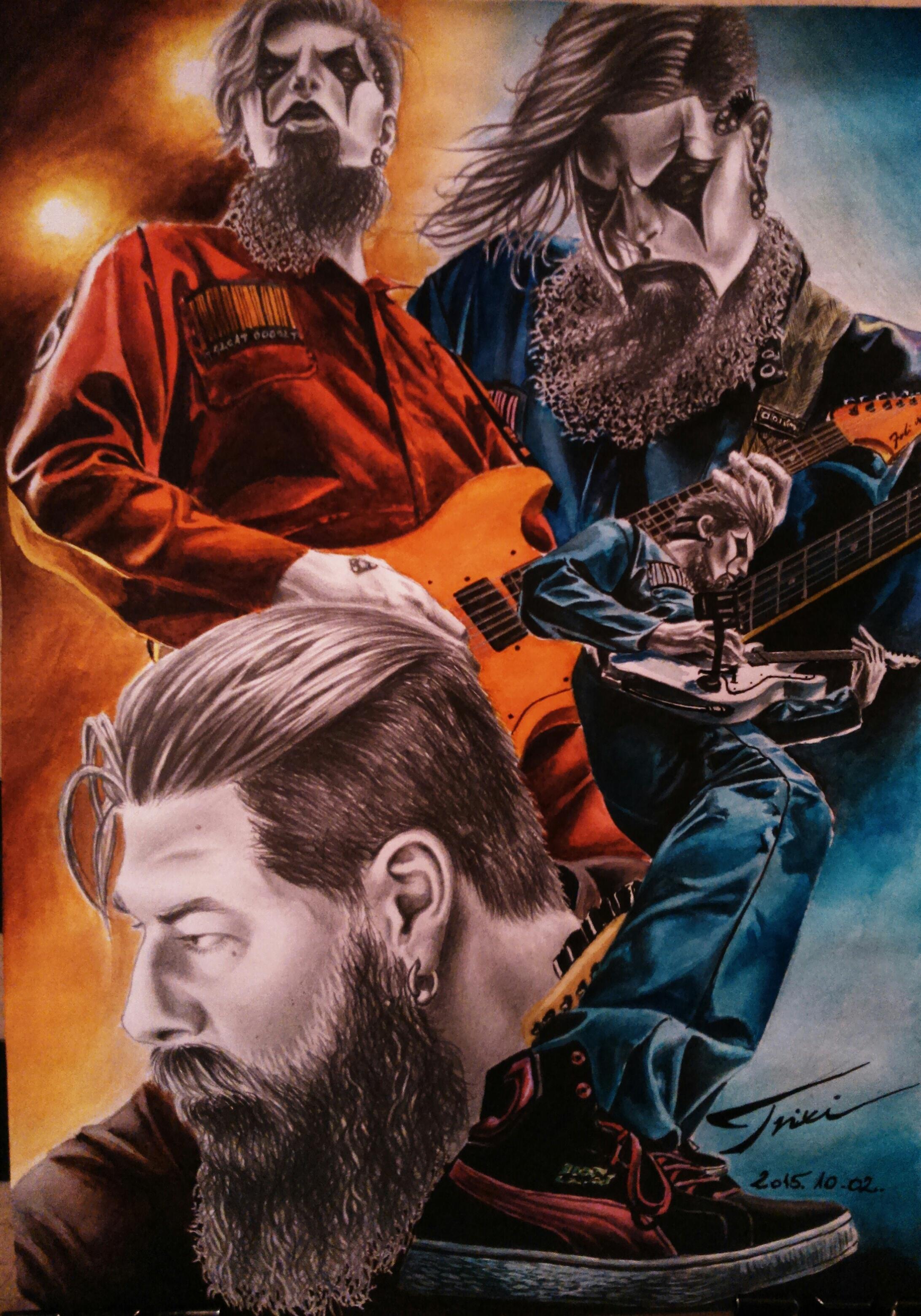 SLIPKNOT   James Root by Trix92 2183x3118