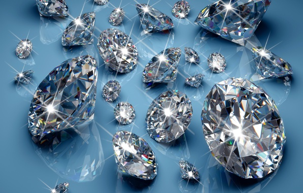 Diamonds brilliant jem sparkle glow glitter diamonds wallpapers 596x380