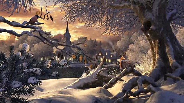 Winter Wallpaper Animated Christmas Wallpapers 634x357