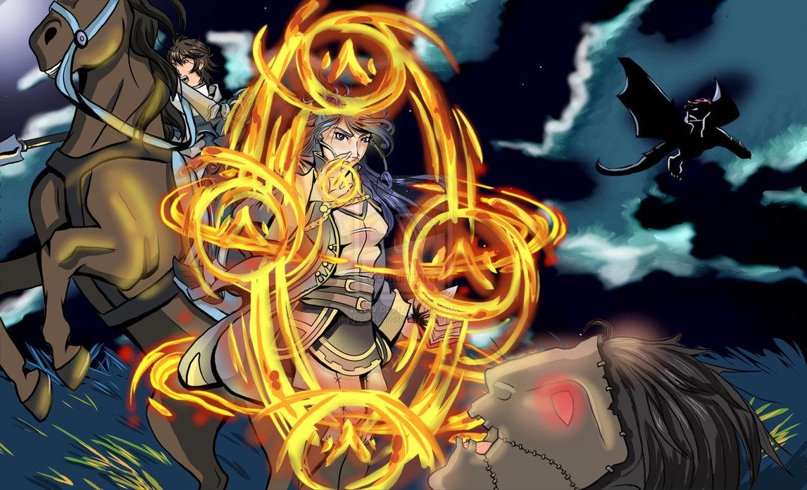 fire emblem awakening by HikaruHrist 1146x697