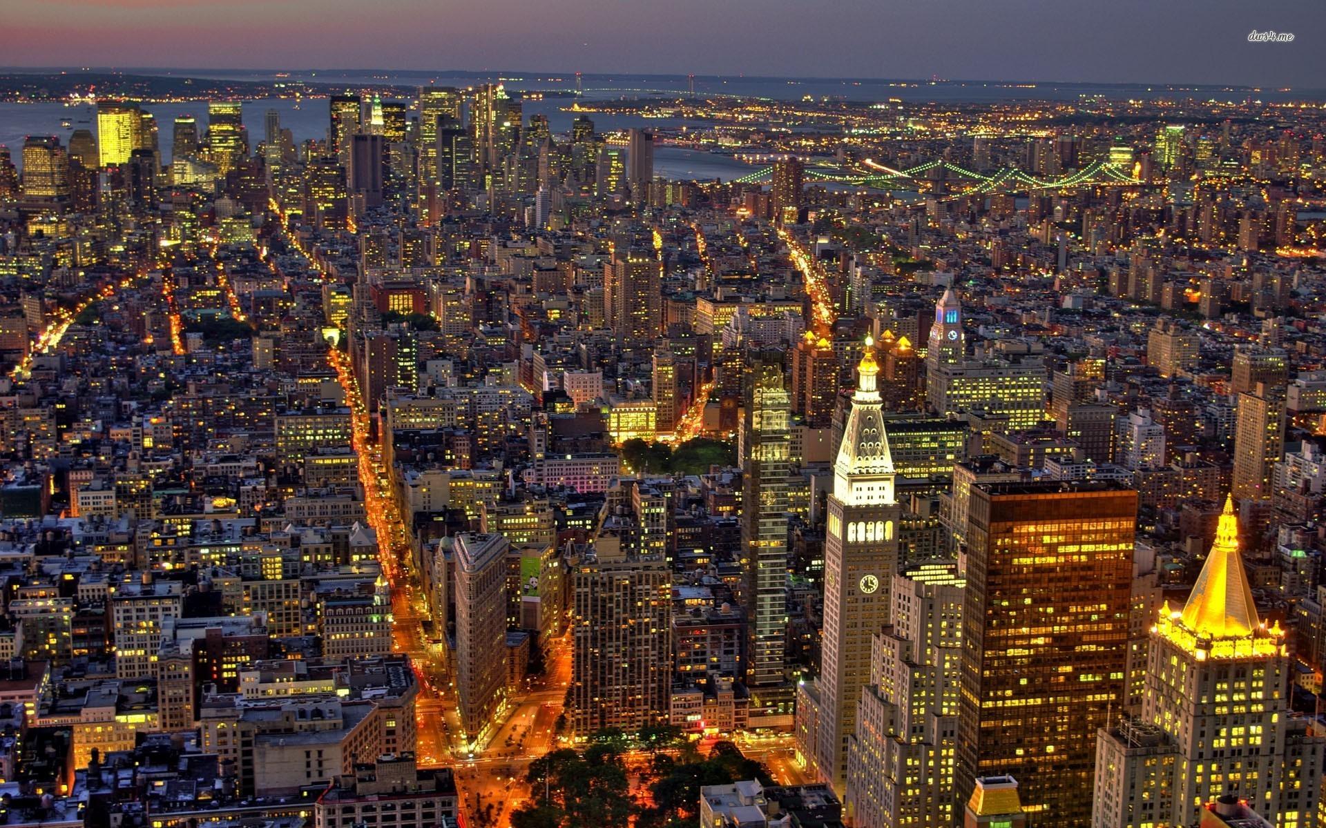 New York Night Wallpaper 1920x1200