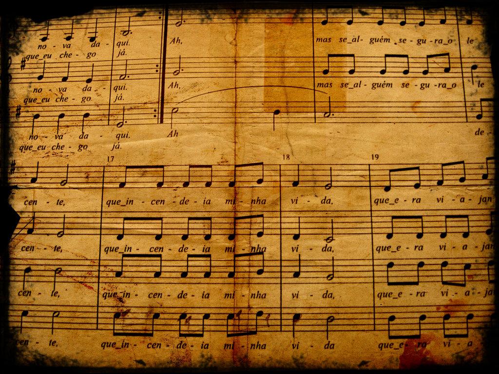 Music Score Wallpaper - WallpaperSafari
