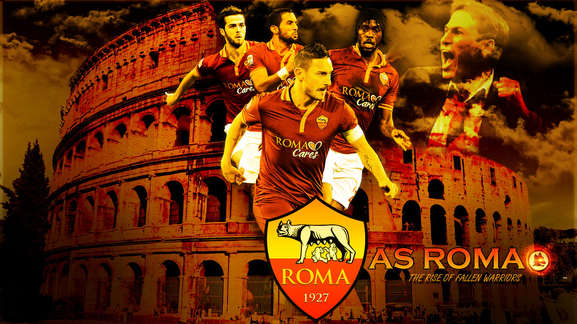 As Roma Wallpaper Squad 2015 12098 Wallpaper Cool Walldiskpapercom 1191x670