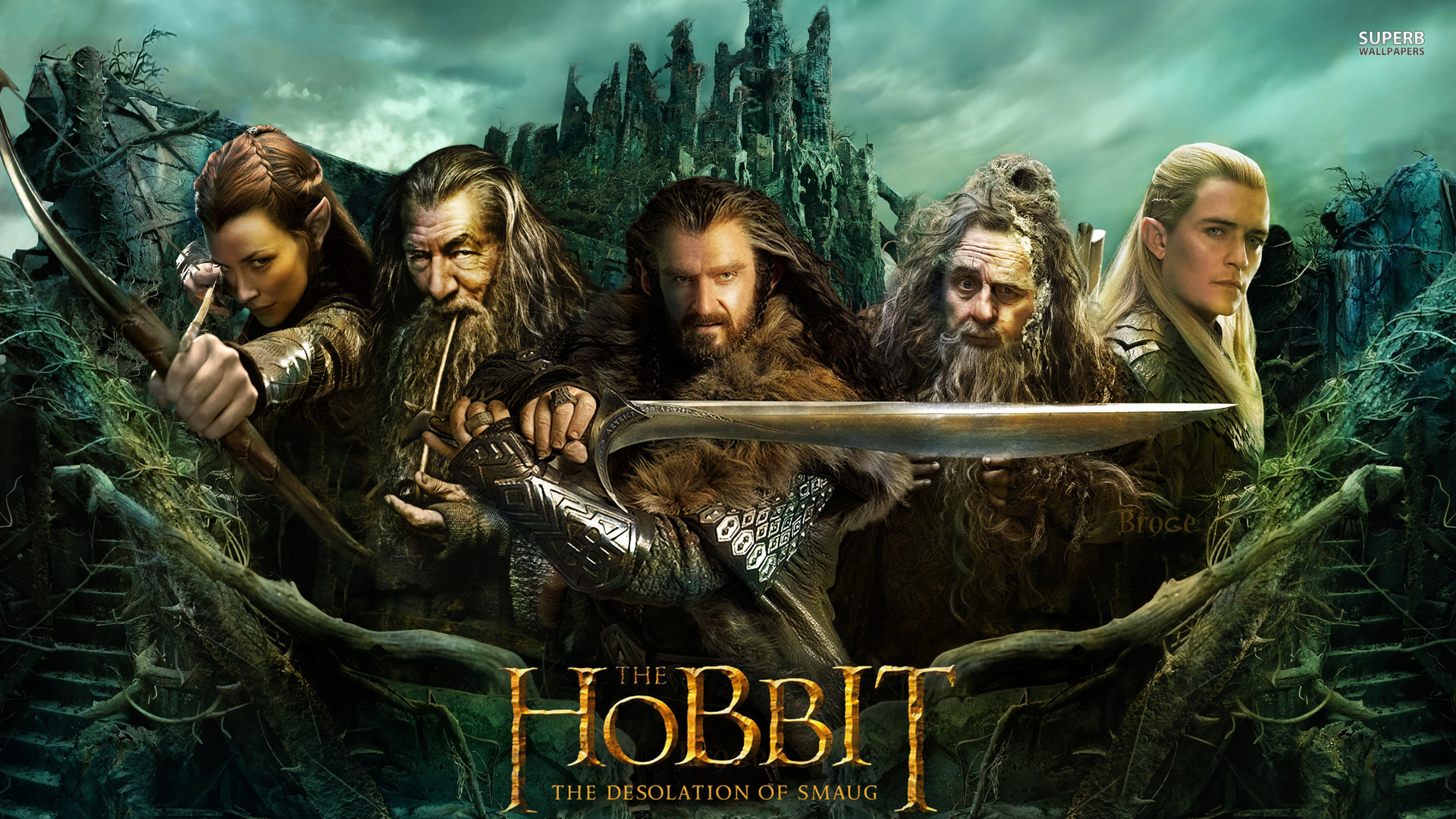 Hobbit The Desolation Of Smaug Movie Wallpaper 2658   Ongur 1920x1080