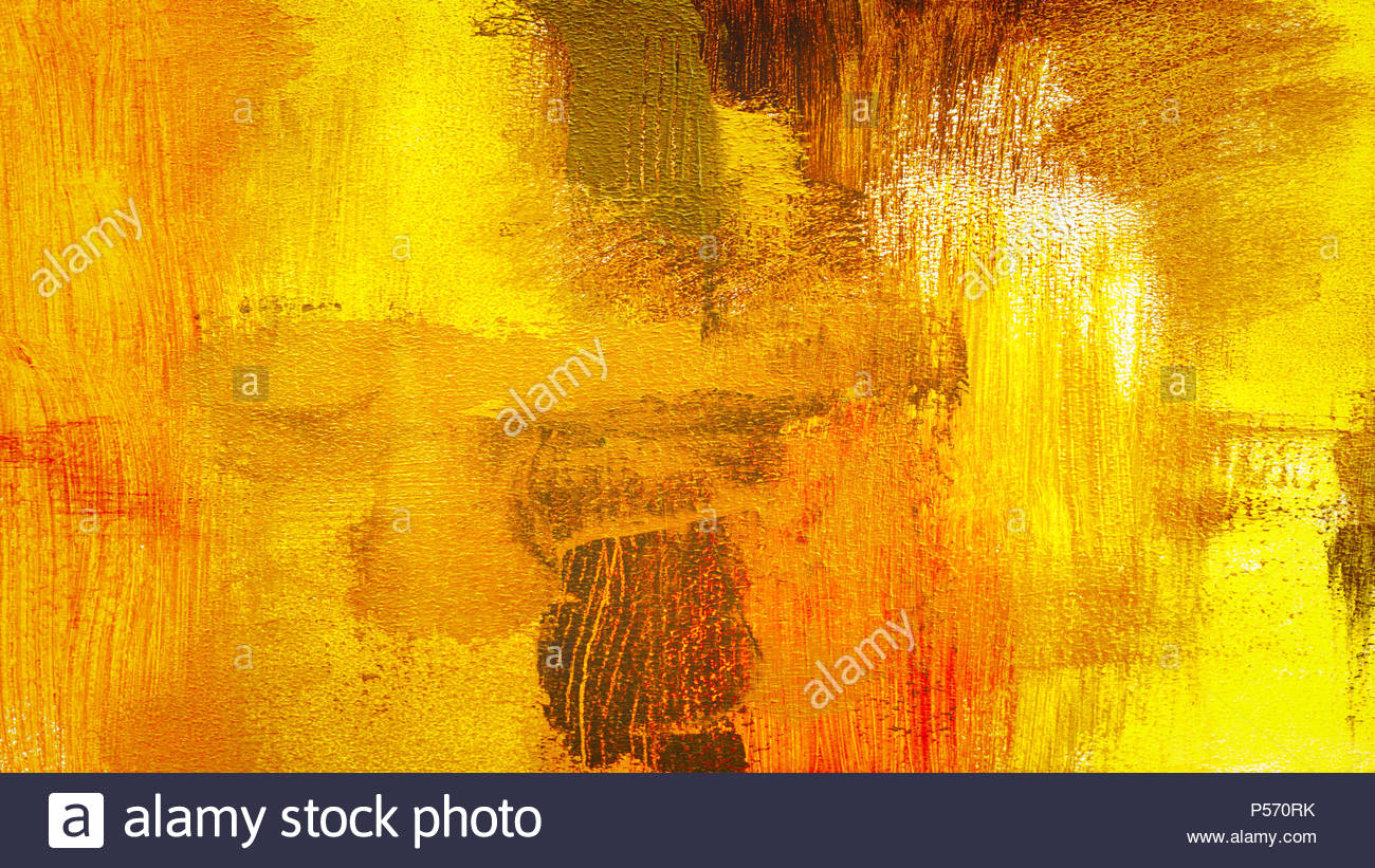 Abstract yellow red colorful textured hand painted background 1300x821