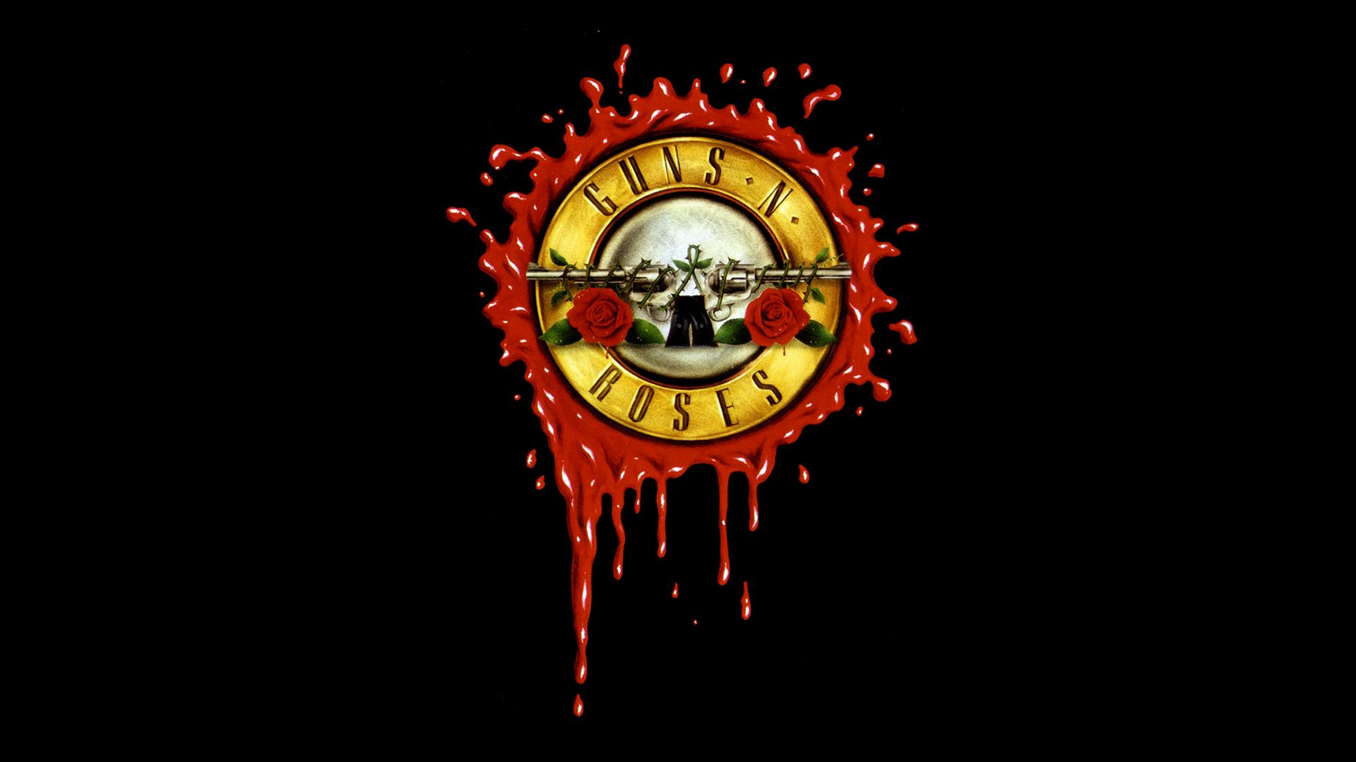 Guns N Roses Logo Wallpaper 1920x1080