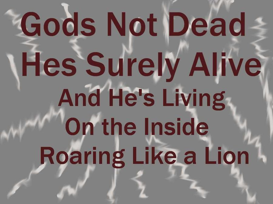 God's Not Dead Wallpaper