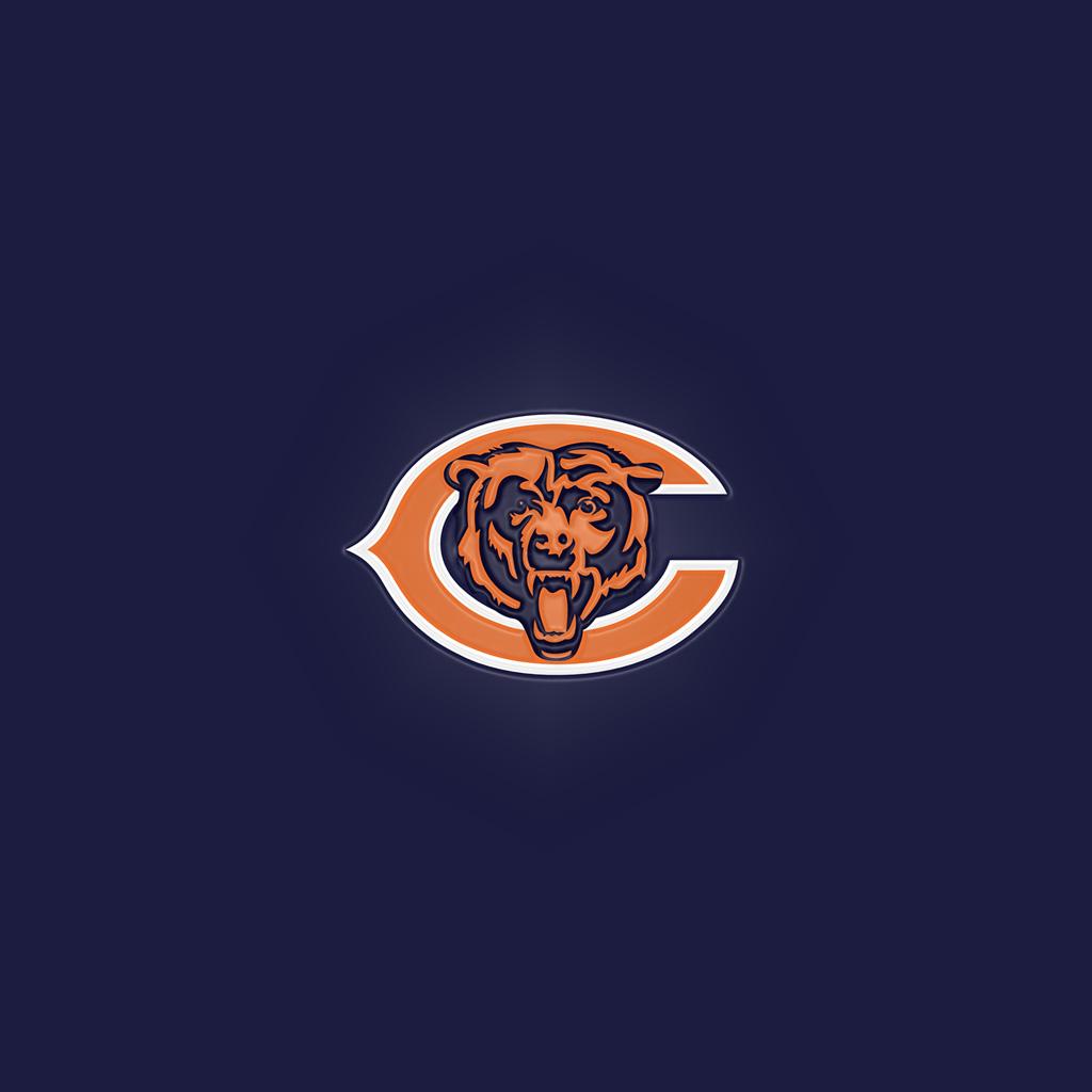 Chicago Bears Team Logos iPad Wallpapers Digital Citizen 1024x1024