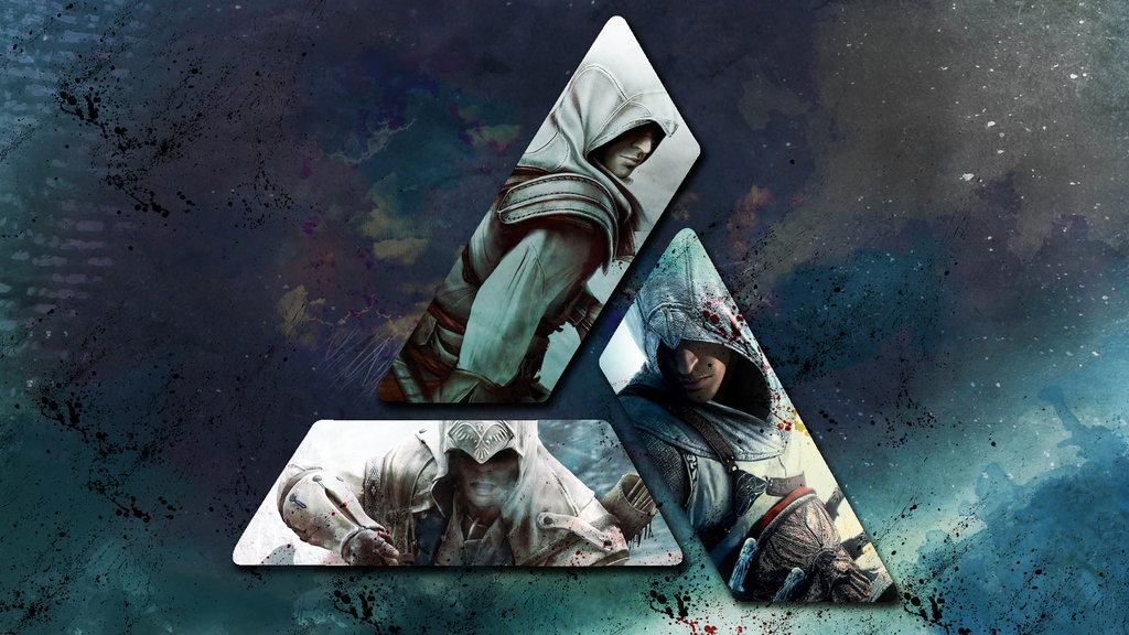Free Download Assassins Creed Wallpaper 5 Altair Ezio Connor