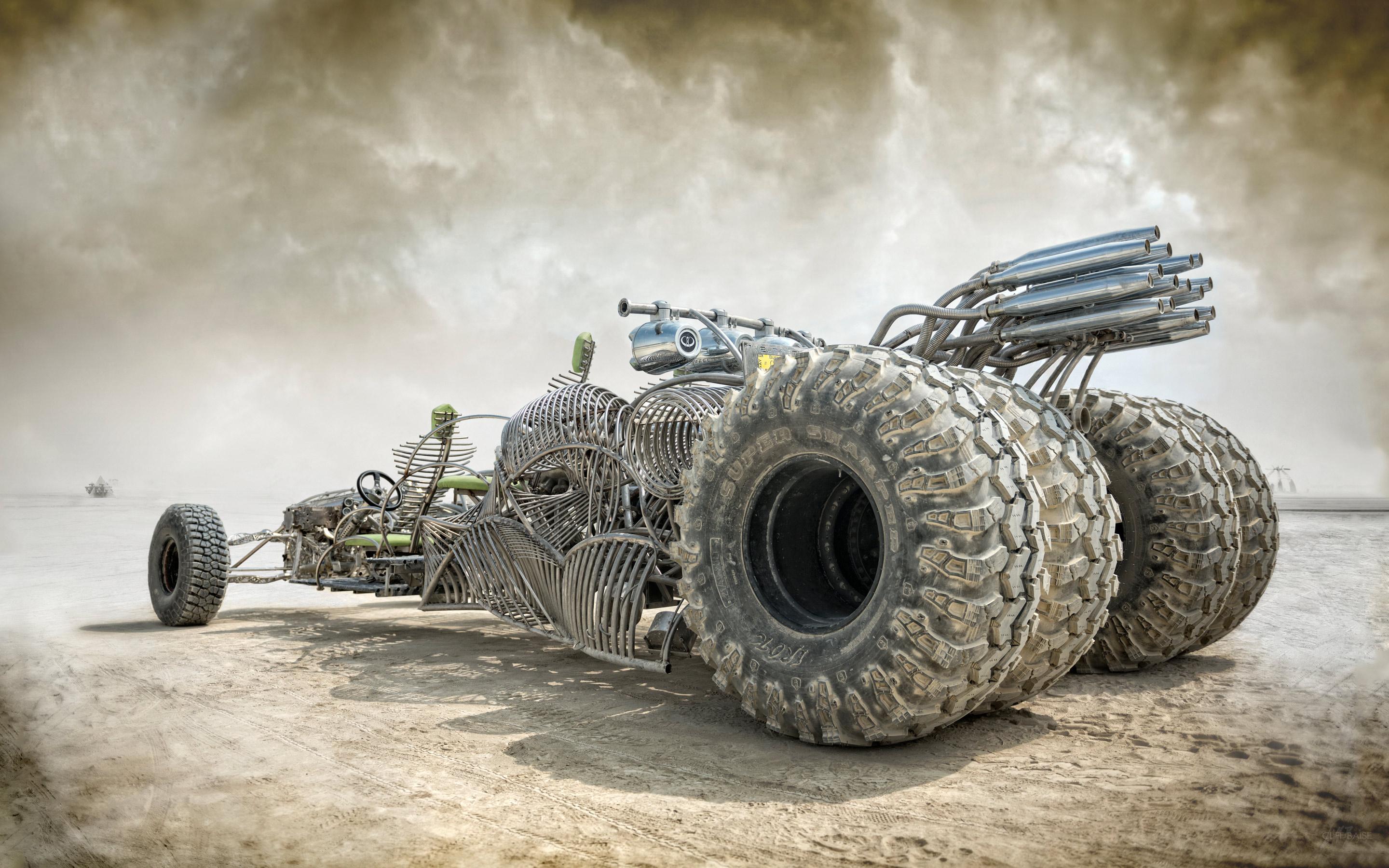 Mad Max Fantasy Car HD Wallpaper 2880x1800