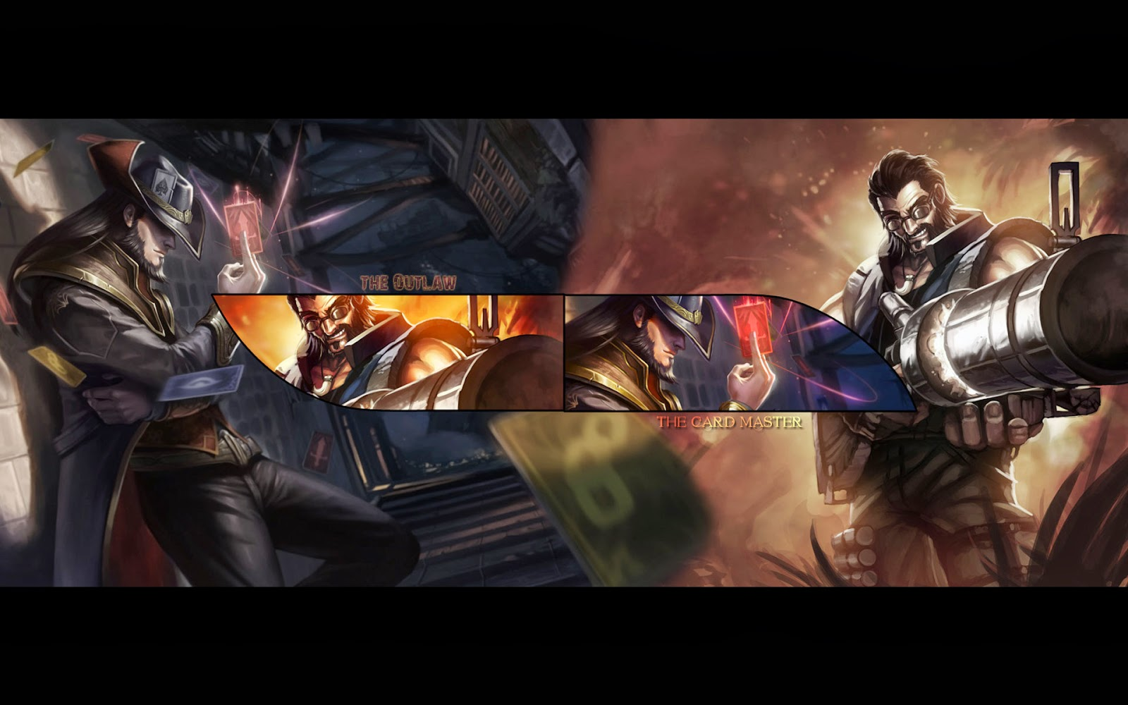Twisted Fate League of Legends Wallpaper Twisted Fate Desktop 1600x1000