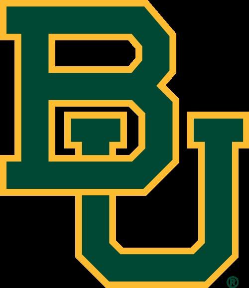 Baylor University Football Logo 500x578