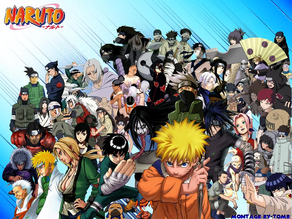 Naruto Group Wallpapers Naruto Network 1024x768