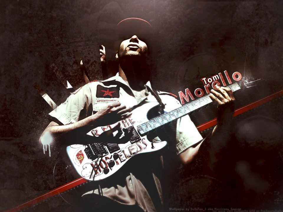 Tom Morello   Guitarist of RATM Paint it with Music Pinterest 960x720