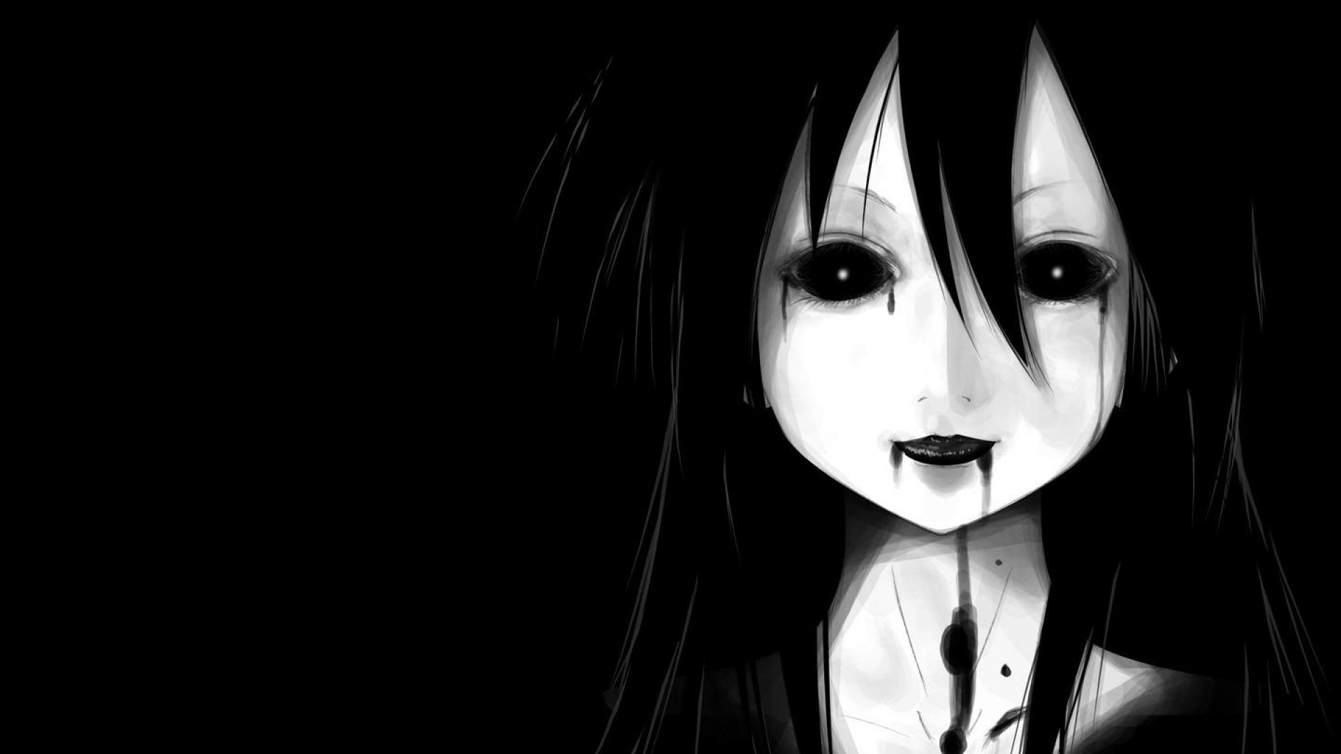 Manga Wallpaper Black And White