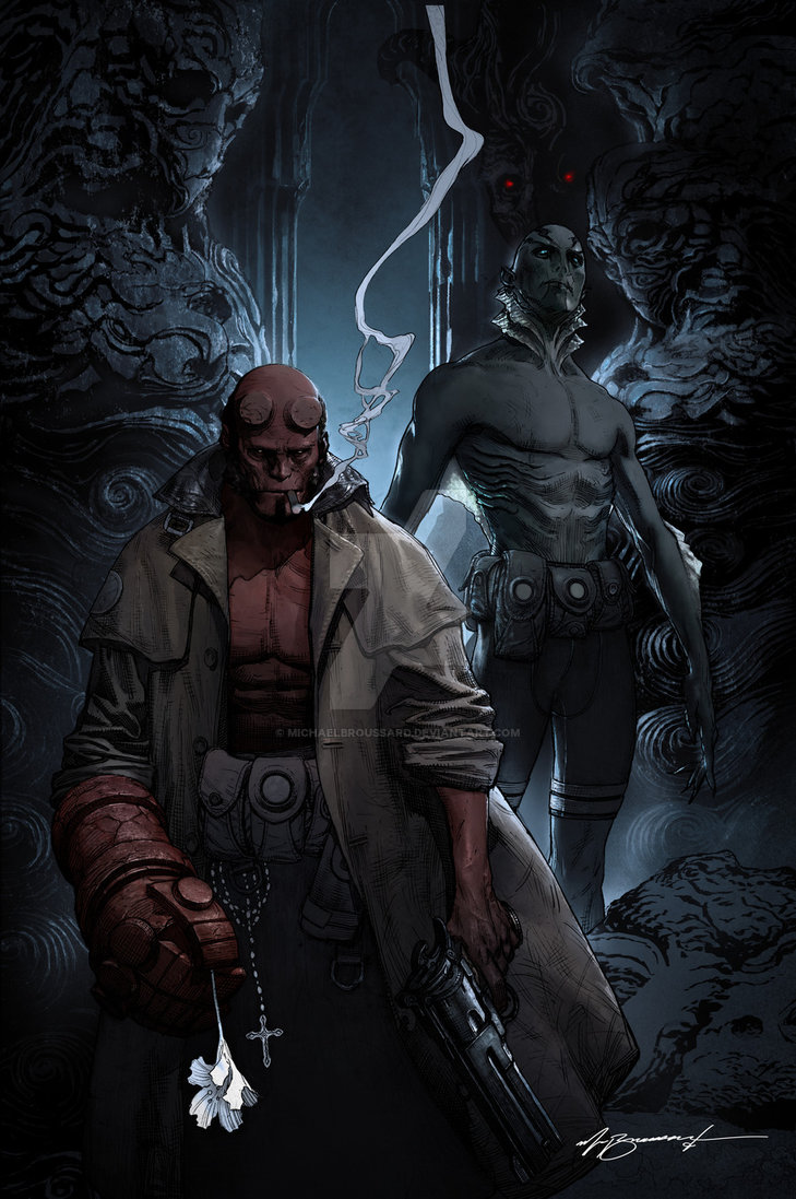 HELLBOY by MichaelBroussard 729x1097