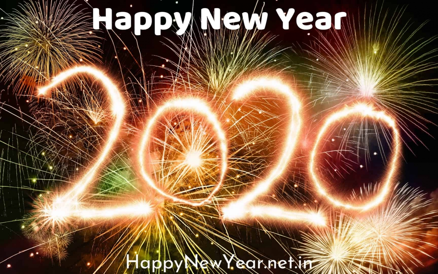 download Happy new year wishes for friends 2020 wallpaper 1440x900
