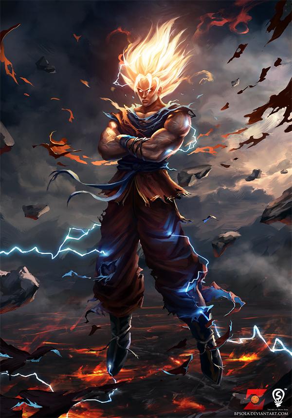 Goku by bpsola 600x858