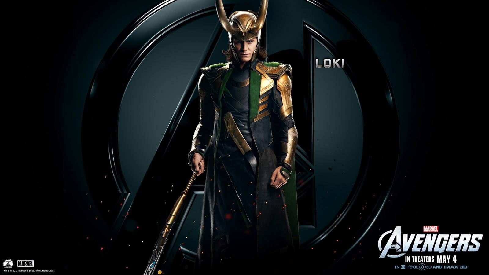 Avengers Wallpapers HD The Avengers Villain Loki HD Wallpapers 1600x900