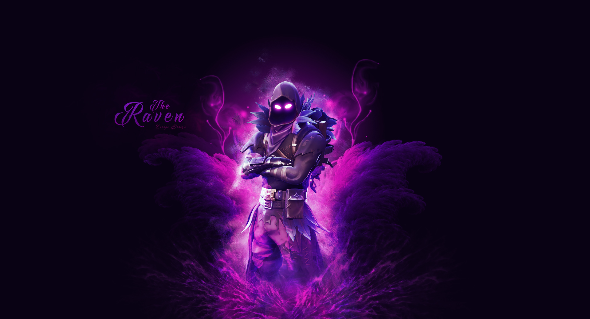 fortnite raven skin wallpaper by cre5po 4138 Wallpapers and 1920x1040