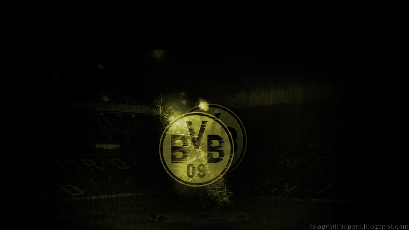 Borussia Dortmund HD Background Wallpapers 32219   Baltana 1366x768