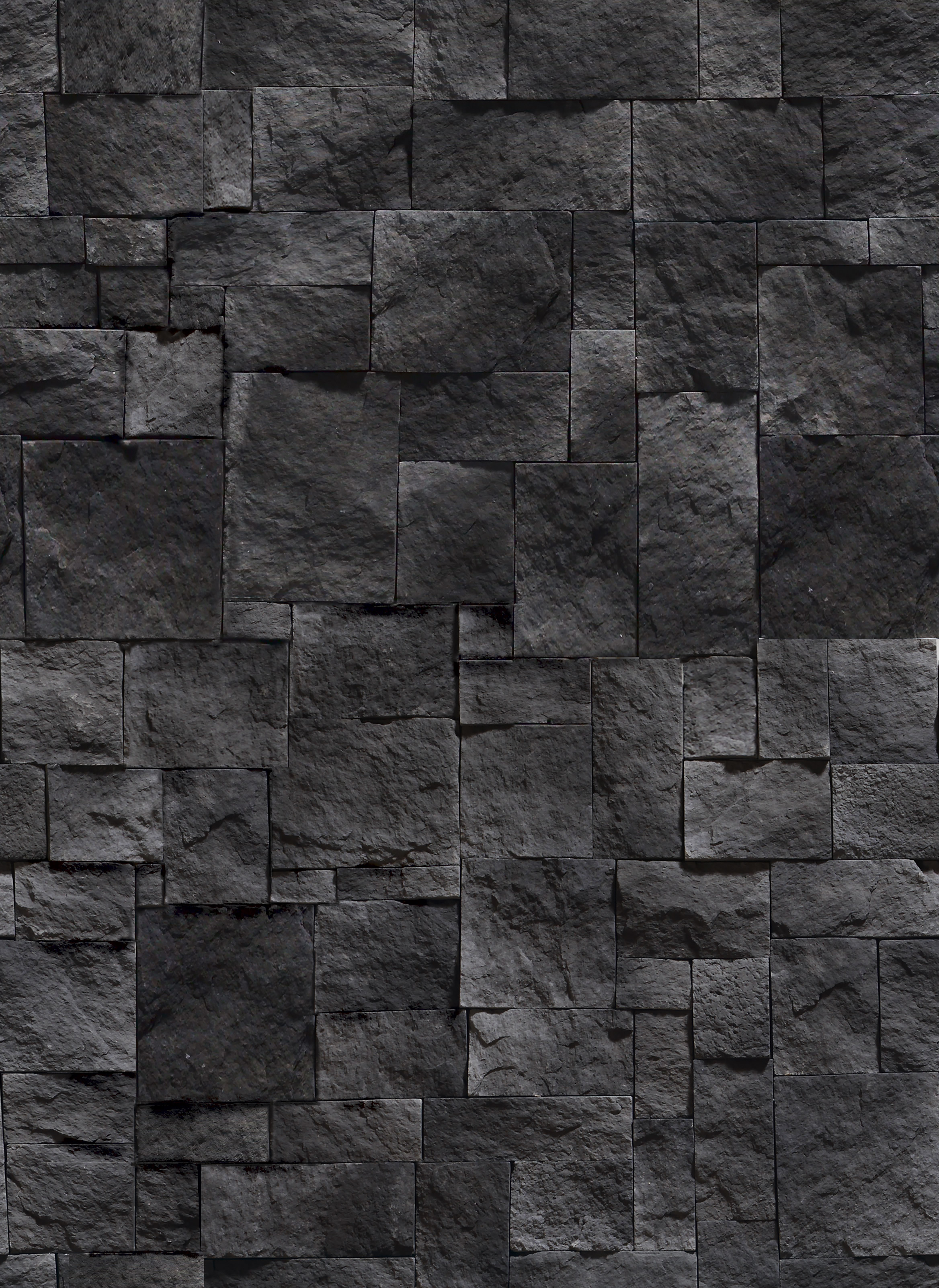 Black Marble Stone Background Texture Pattern Free Stock