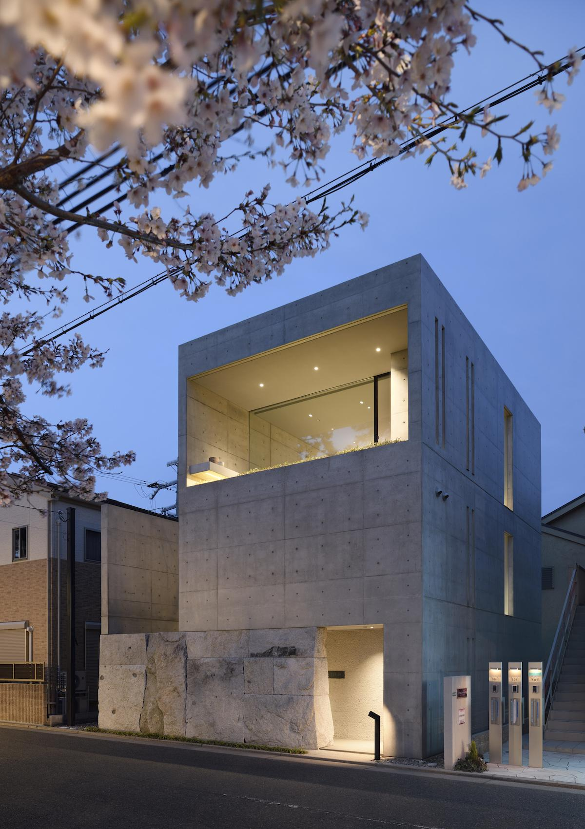Architect Go Fujitas livework house by Gosize in Japan Wallpaper 1200x1701
