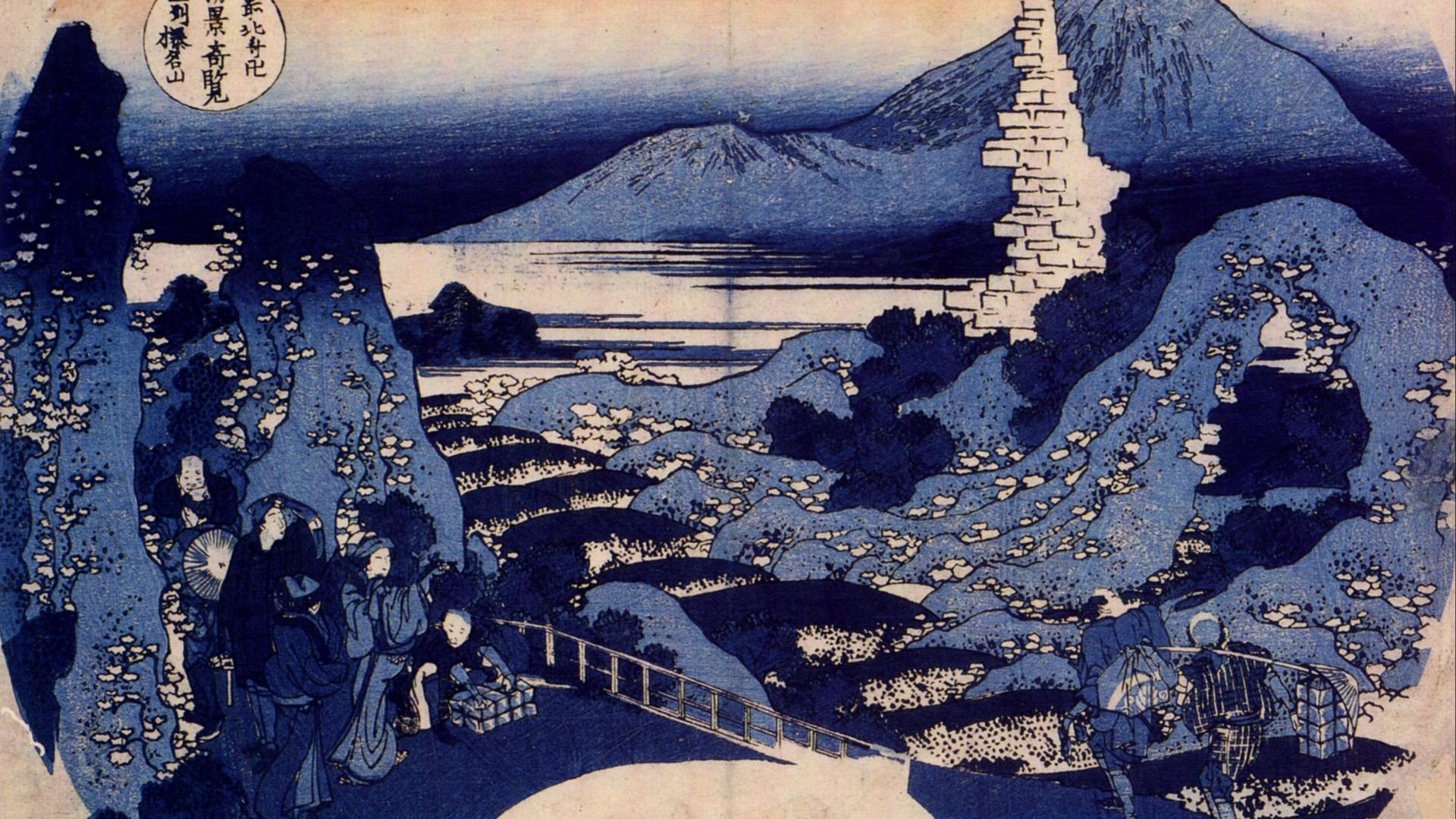 Artwork katsushika hokusai wallpaper 9676 1920x1080