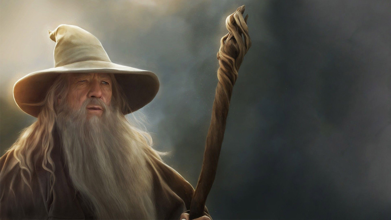 Gandalf   The Lord of the Rings wallpaper 17685 1365x768