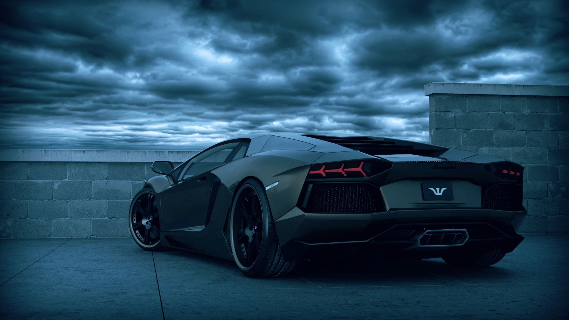 Cool Blue And Black Wallpapers Cool Black Lamborghini Wallpapers 1920x1080