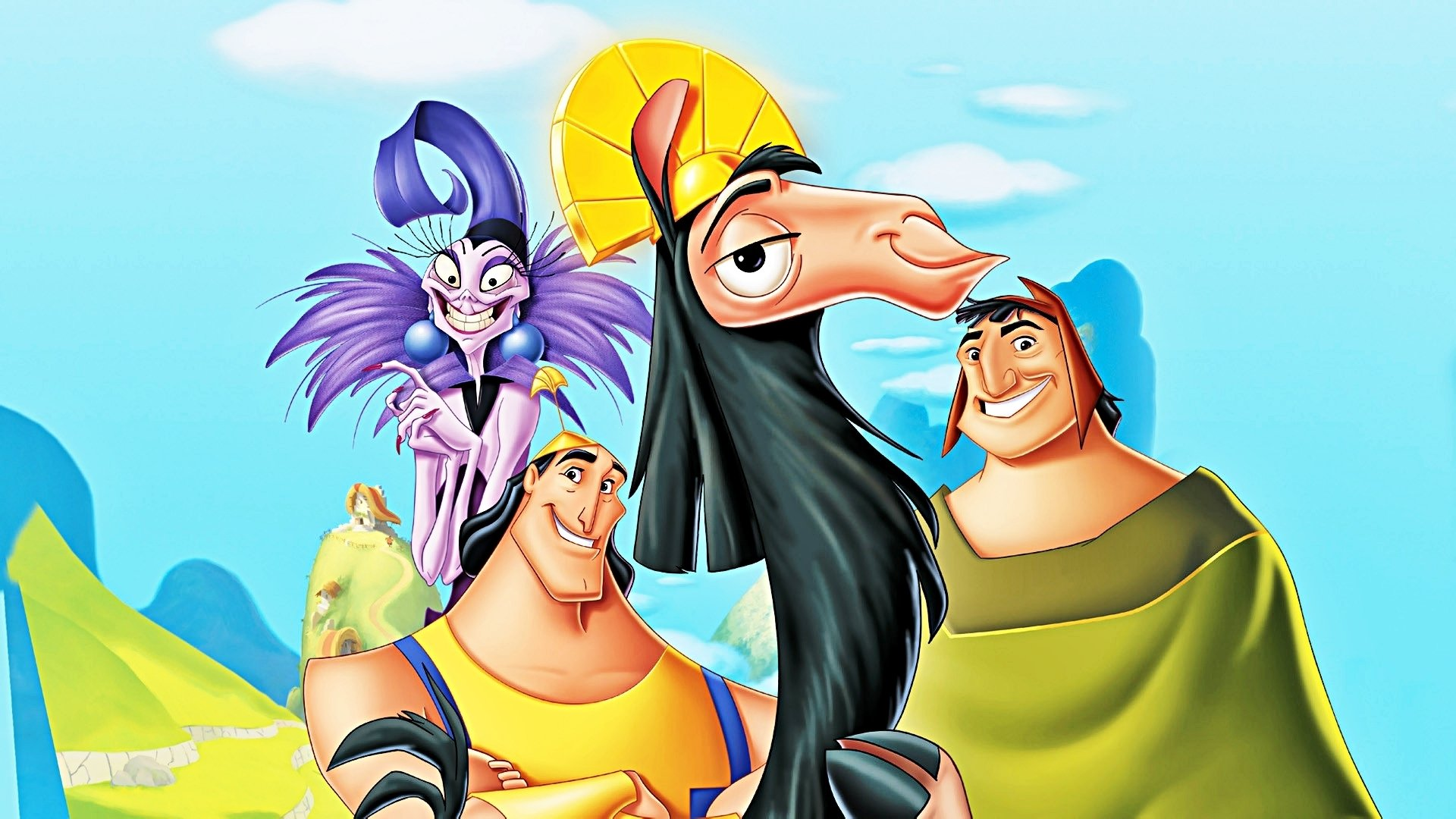 Disney Wallpapers   The Emperors New Groove   Walt Disney Characters 1920x1080