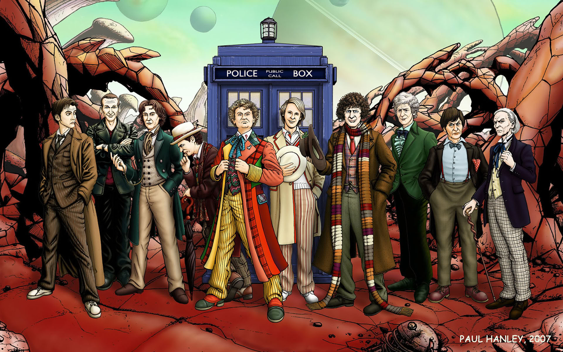 Pin Doctor Who Mobile Phone Wallpaper 10lineupwallpaper1920 On 1920x1200