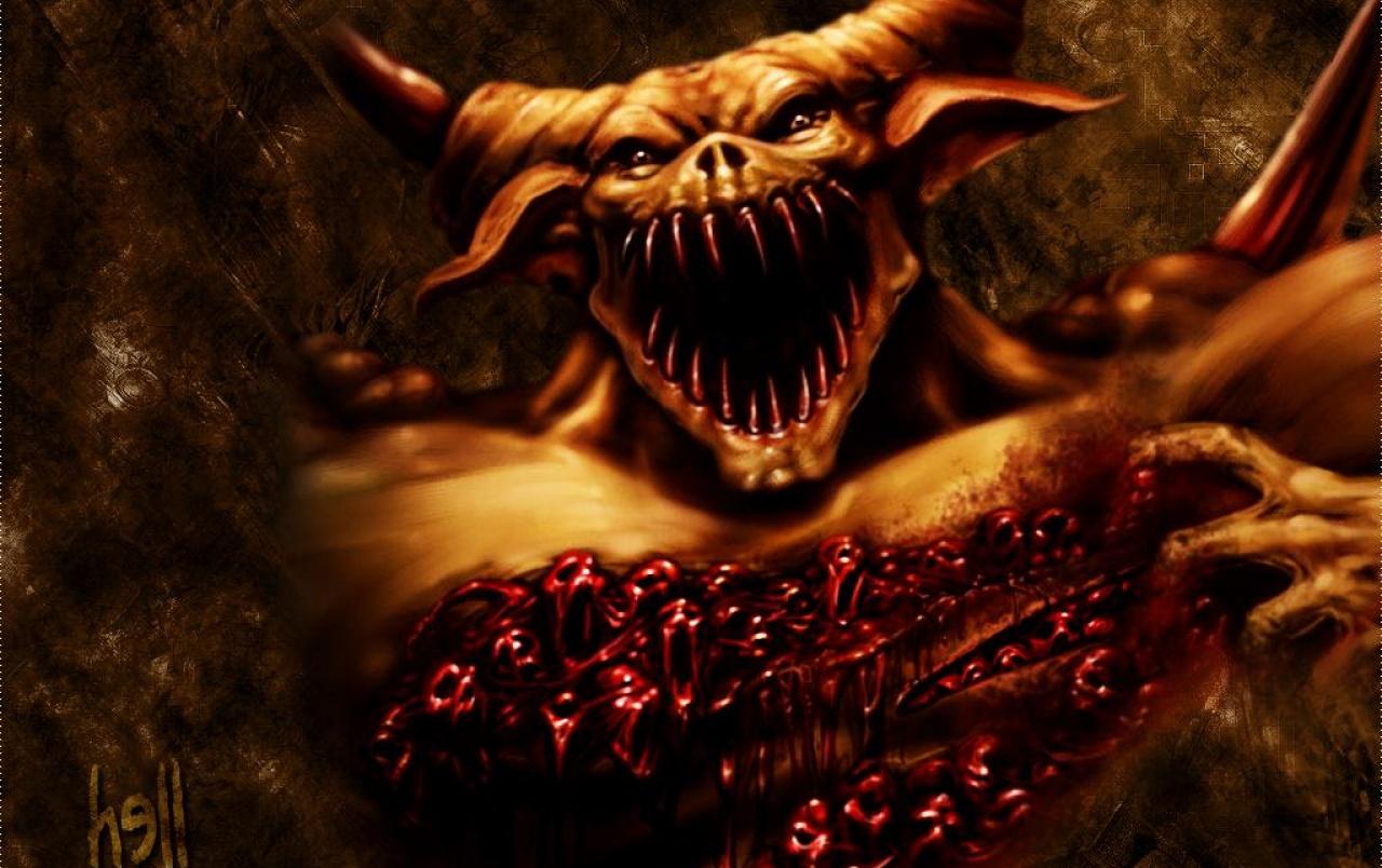 Sangre de demonio fondos de pantalla Sangre de demonio fotos gratis 1280x804