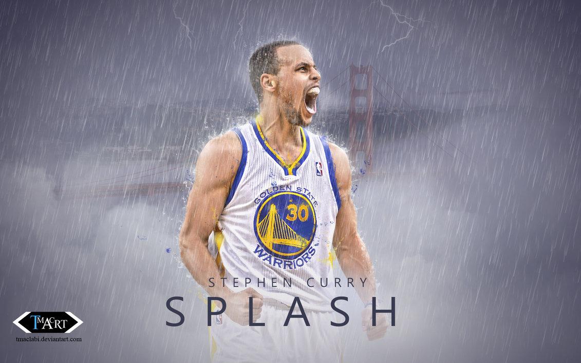 Stephen Curry Splash Wallpaper by tmaclabi 1131x707