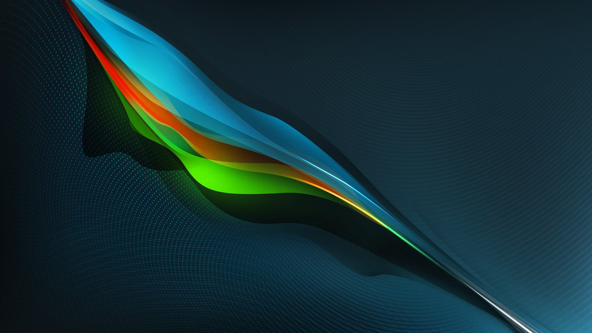 Colorful feather wallpaper 1510 1920x1080