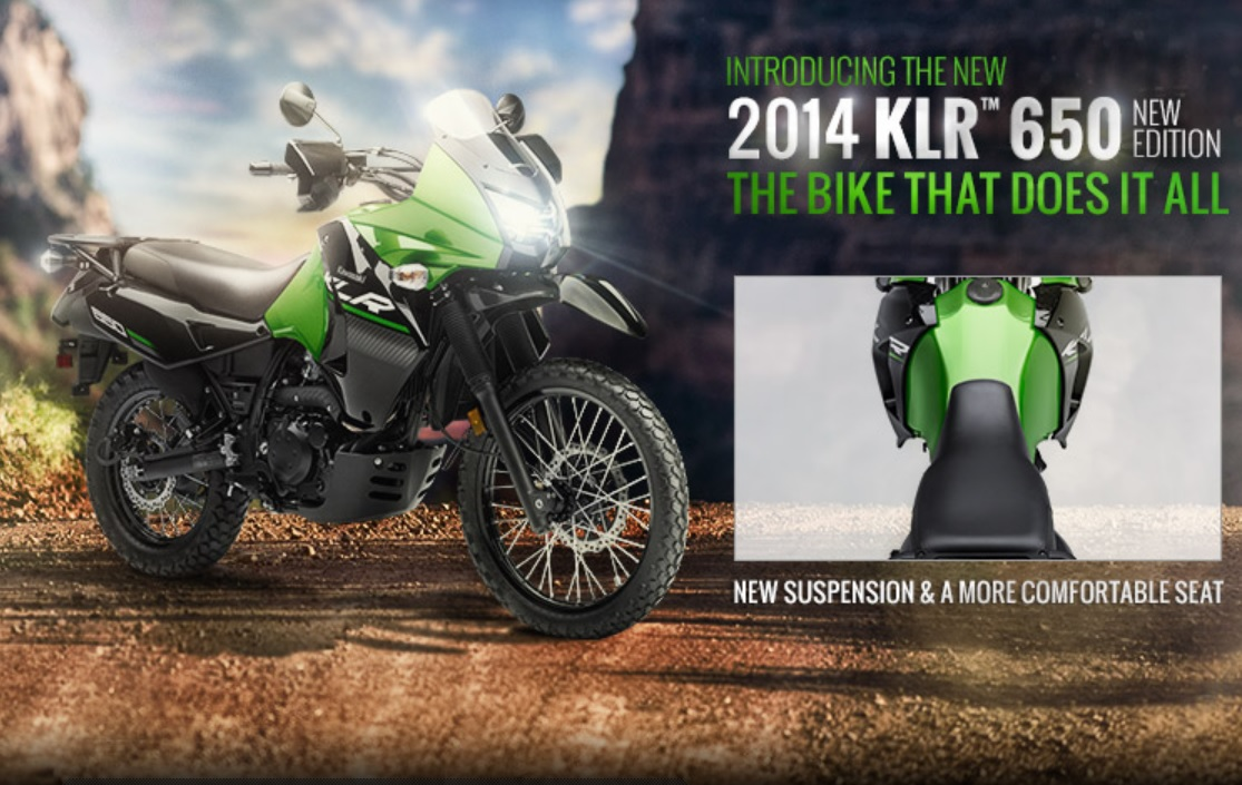 Kawasaki KLR650 New Edition 2014 Bikes Doctor 1115x705