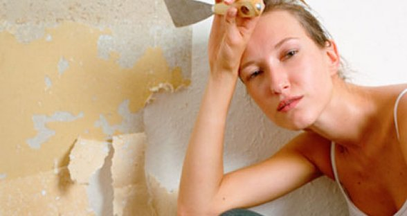How to Remove Wallpaper Glue 588x312