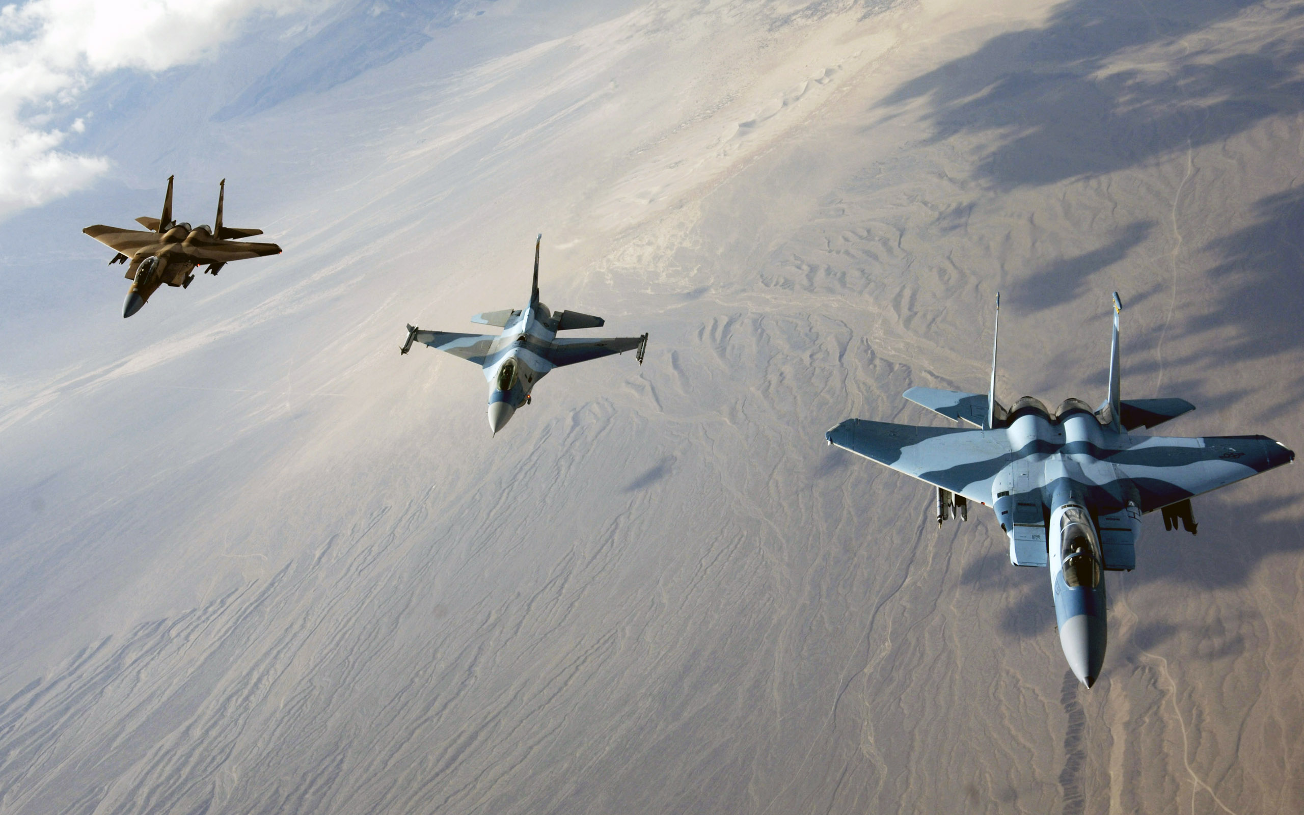 15 Eagles and F 16 Fighting Falcon Wallpapers HD Wallpapers 2560x1600