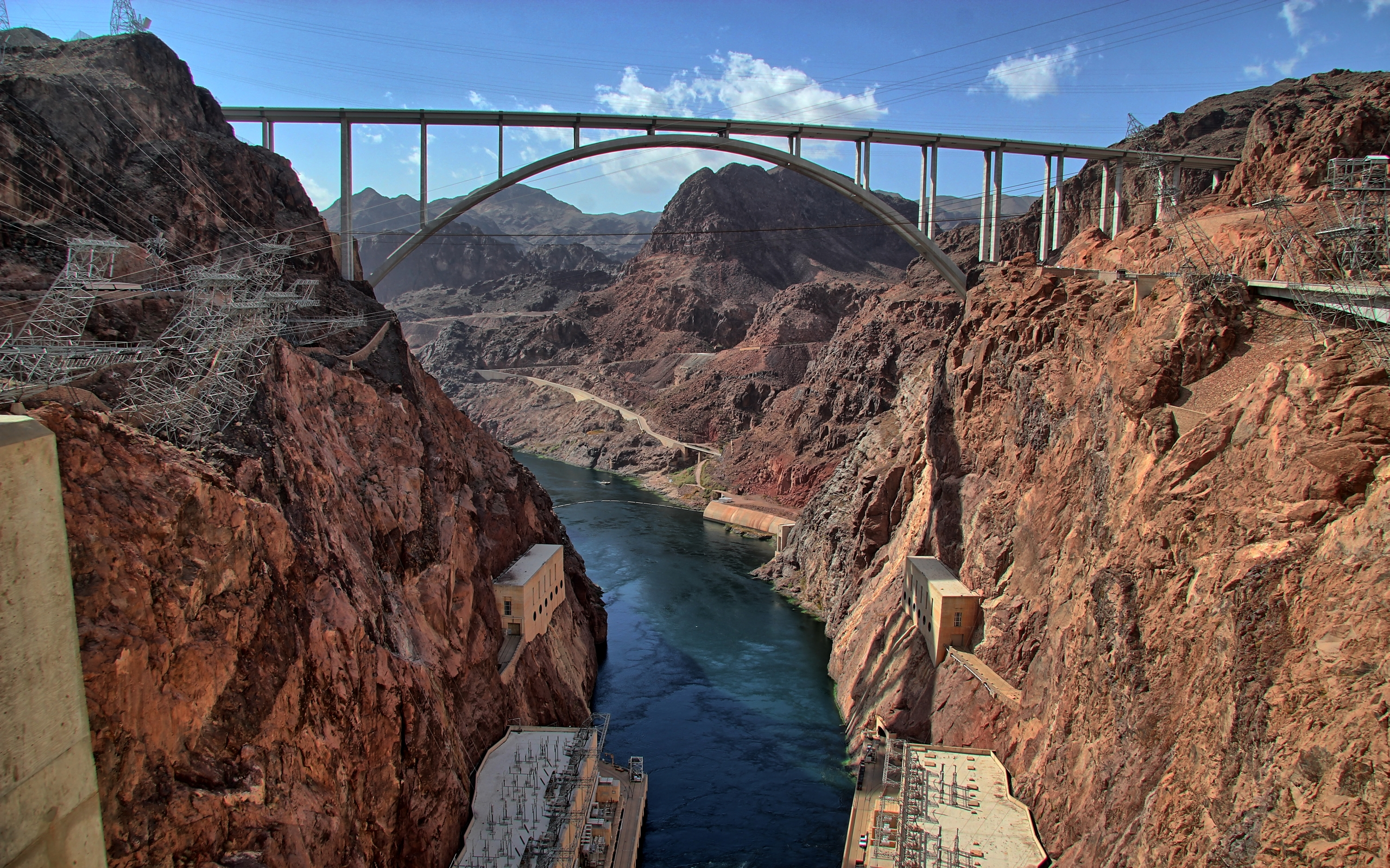 Hoover Dam HD Wallpaper Background Image 2560x1600 ID553447 2560x1600