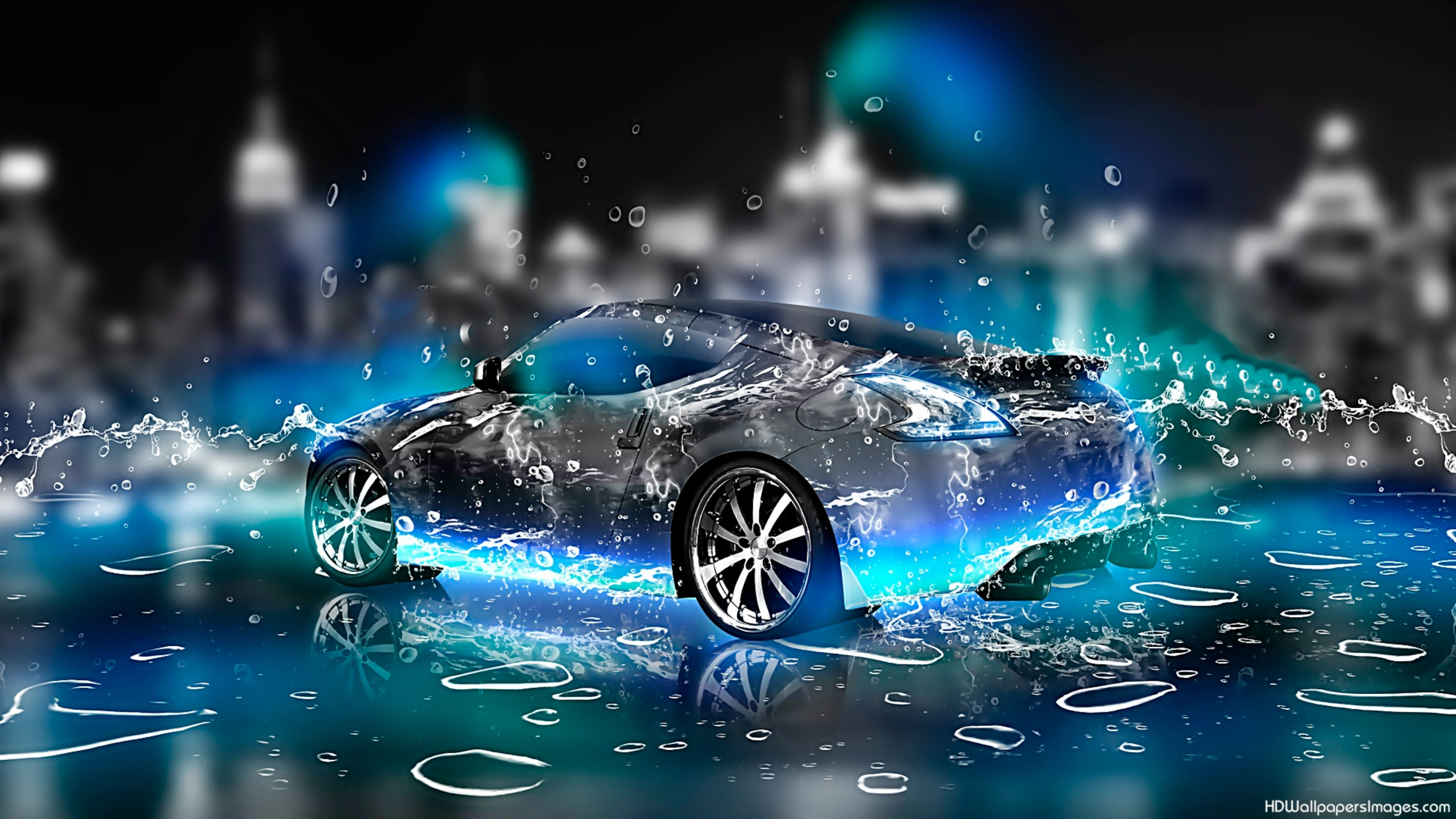 cool car 3d 4k wallpaper free 4k wallpaper