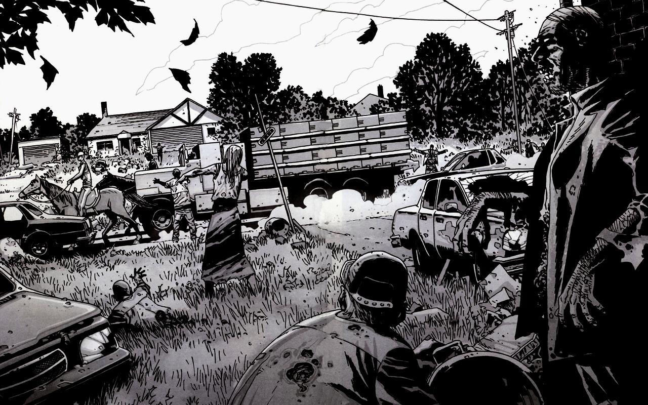 Free Download Comics The Walking Dead Wallpaper Wallpapers Gratis