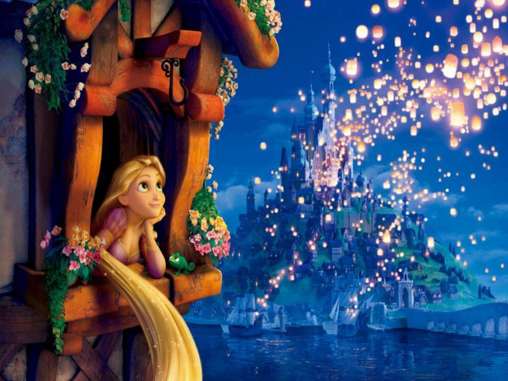 Disney Tangled Wallpaper for Android   Cartoons Wallpapers 1024x768