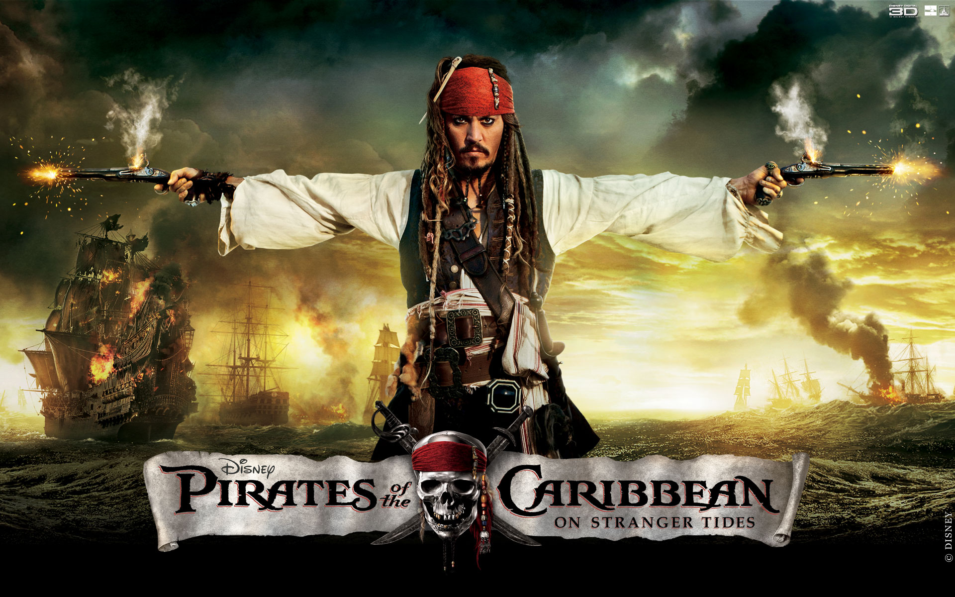Pirates Of The Caribbean On Stranger Tides wallpaper   405920 1920x1200